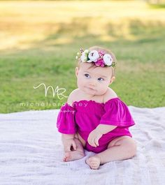 Ideas Baby Photography 1 Year Newborn Photos For 2019 Toddler Pictures, Baby Girl Pictures, Newborn Pictures, Baby Monthly Pictures, Outdoor Baby Pictures, Monthly Photos, 6 Month Baby Picture Ideas, 6 Month Pictures, Photo Bb
