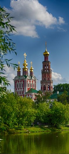 Novodevichiy Convent, Moscow, Russia