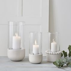 The Ruustinna series now includes a delightful little tealight lantern. Place on the table or beside the fireplace for a warm light. Birch/glass/metal, height 17 cm, lantern Ø 6 cm, incl. White Candles, Tea Light Candles, Tea Lights, Concrete Bowl, Concrete Art, Floor Lanterns, Candle Lanterns, Concrete Candle Holders, Tealight Candle Holders