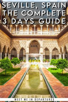 Seville Itinerary | The best things to see in Seville, Spain | Visiting Seville | What to do in Seville | Free stuff in Seville | Southern Spain | Day trips from Seville | Where to stay in Seville | Seville Bucketlist | When to visit Seville | Seville Alcazar | Plaza de Espania | Seville Cathedral | Triana | Seville in 3 days | Spain Travel | Andalucia #Spain #Andalucia #Seville Spain Travel Guide, Europe Travel Tips, European Travel, Travel Guides, Travel Destinations, Time Travel, Portugal Travel, Spain And Portugal, Places In Europe