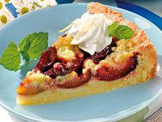 Pflaumenkuchen mit Mandelstreusel - Pflaumenkuchen zum Nachbacken und Schlemmen - Zum Rezept