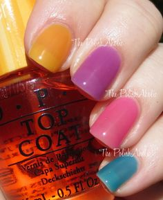 OPI Sheer Tints Collection Swatches & Review