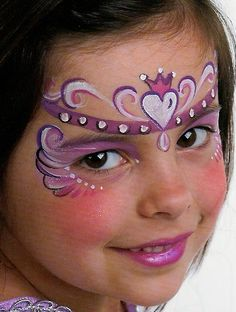 face paint princess - Google Search