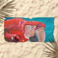 nature, brasil, brazil, bresil... https://society6.com/product/scarlet-macaw-nbv_beach-towel?curator=edualpeirano
