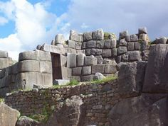 Cusco, Peru: Sacsayhuaman (sexy woman) partially destroyed by Spanish, but still standing