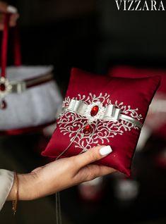 Burgundy And Grey Wedding, Burgundy And Gold, Ring Bearer Pillows, Red Wedding Dresses, Large Candles, Unity Candle, Wedding Glasses, Flower Girl Basket, Garter Set