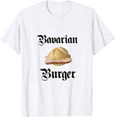 Bavarian Burger T-Shirt Mens Tops, Fashion, Clothing, Moda, Fashion Styles, Fashion Illustrations