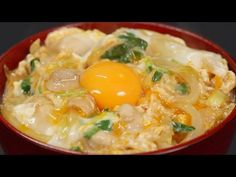 Oyakodon Recipe (Chicken and Egg Bowl) | Cooking with Dog - YouTube