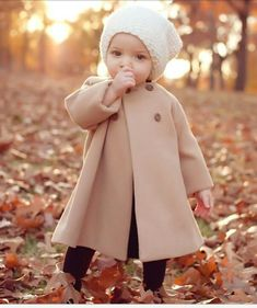 Our little girl will have this p coat and hat!