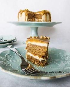 Vegan Peanut Butter Love Cake | Fragrant Vanilla Cake