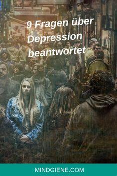 Depression ist eine häufige aber ernste Gemütszustandsstörung, dass schwerwiegende Symptome verursachen. Diese Symptome, wie etwa das Gefühl von Hilflosigkeit, Traurigkeit, Reizbarkeit und verminderte Energie beeinflussen wie wir fühlen, denken und Tagesaktivitäten bewältigen, wie schlafen, essen oder arbeiten… | mindgiene Trauma, Depression, Movie Posters, Chronic Illness, Joie De Vivre, Essen, Film Poster, Popcorn Posters, Billboard