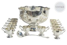 Classic-Style English Punch Set from One Kings Lane on Catalog Spree, my personal digital mall.