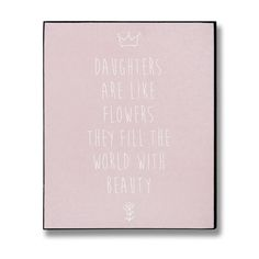 Daughters Plaque