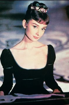 Audrey Hepburn in 'War and Peace', 1956.