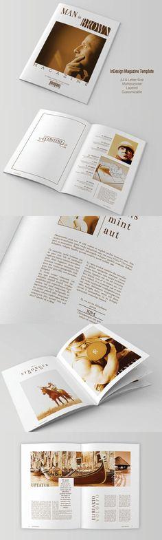 #magazine #design from rudiSasori   DOWNLOAD: https://creativemarket.com/rudiSasori/488751-Multipurpose-Magazine-Template?u=zsoltczigler