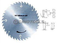 China Circular Saw Blade T.C.T Saw Blade