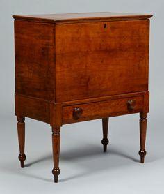Williamson County, Tenn., Mooreland Plantation sugar chest, ca. 1825.