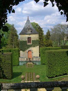 The Gardens Of Eyrignac Manor, Dordogne, Aquitaine, France