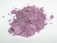 Oxydes et ultramarines : Argile violette