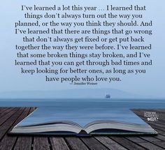 I learned a lot this year.