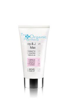 organic honey & jasmine mask by The Organic Pharmacy. A rich, deeply moisturizing and nourishing mask.