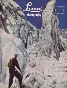 Leica Photography Magazine Winter 1952 Weddings Underwater BOOWU