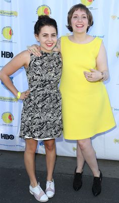 Mae Whitman and Lena Dunham