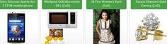 Here new HomeShop18 SuperDeals Sony Ericsson Xperia Arc S LT18i Android Phone of MRP Rs. 26,249 at Rs. 20,999, Whirlpool Grill Microwave 20 L of RS. 6,790 at Rs. 4,449,  and 2 more offers. Cash on delivery and free shipping available.
