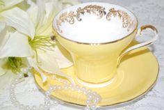 AYNSLEY Vintage Corset Bone China Tea Cup and by HoneyandBumble, $38.00