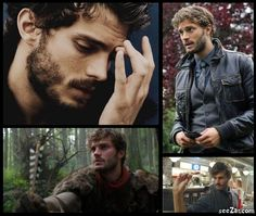 Jamie Dornan as The Huntsman/Sherriff  Graham in #OUAT Once Upon a Time