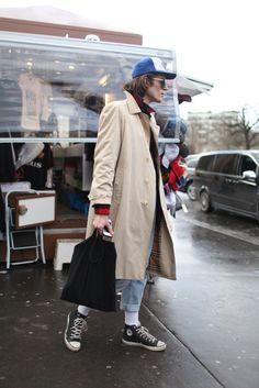Paris Men's Fashion Week street style. Fall 2014