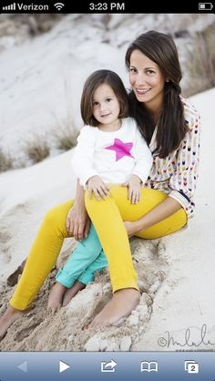 Adorable mommy / daughter pic