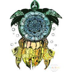 Turtle, Mandala, Dreamcatcher T Shirt By Vsoar182 Design By Humans