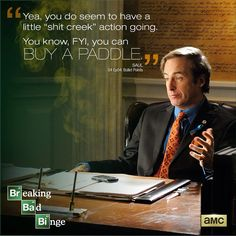 Breaking Bad Season 4 Episode 4: 'Bullet Points' Saul quote