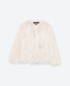 Image 8 of SHORT FAUX FUR COAT from Zara
