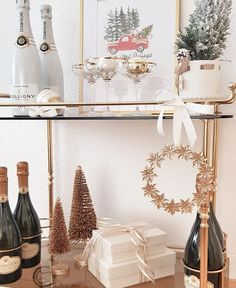 Bar Cart Styling, Gold Gold, Cheers, Times, Lifestyle, Furniture, Instagram, Home Decor, Interior Design