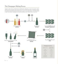This Cool Graphic Details Exactly How Champagne Is Made, from Start to Finish from InStyle.com