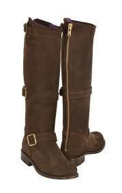 suede buckle madrid boots - Really Wild Clothing Co