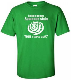 skyrim t-shirt. $9.99, via Etsy.