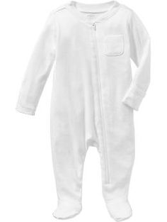 Old Navy Zip-Front One-Pieces for Baby-Love the zip front and comes in a bunch of colors