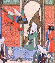 Arcángel Gabriel en el islam, es el ángel que reveló el Corán al profeta Mahoma. También fue el encargado de llevar a los profetas el mensaje de sus obligaciones. Se le menciona varias veces en el Corán (Sura 02: 97, 98; Sura 66: 4) El islam identifica al arcángel Gabriel como el jefe de los cuatro ángeles favoritos, y como el espíritu de la verdad.    En el Hadiz de Yibril (Gabriel), el arcángel Gabriel examina al profeta Mahoma sobre los cinco pilares del islam y los seis de la fe.