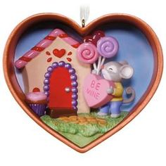 Be Mine, Cookie Cutter Mouse Ornament,