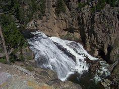 The Falls at Yellowstone -    Yellowstone National Park, West Entrance, Montana/Idaho
