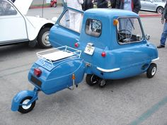 Peel P50*World's Smallest Production Car Made an Appearance at Cars & Coffee-Irvine, CA**