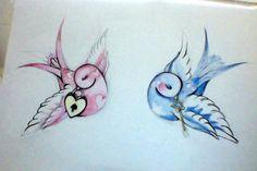 Love Birds #vintage