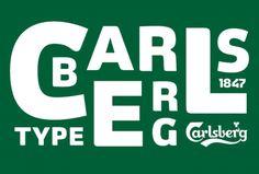 Carlsberg Corporate Typeface | Kontrapunkt