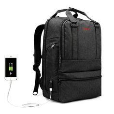 Tigernu T - B3243 USB Port 26L Leisure Backpack Laptop Bag