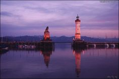 린다우( Lindau) 항구의 사자상