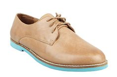 oooh oxfords with neon sole... its like a mullet for your feet: business on top, party on the bottom.