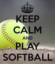 Image result for keep calm and play softball